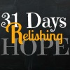 31 Days Relishing Hope Button